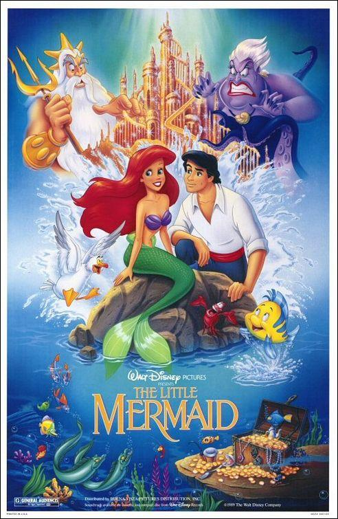 Little Mermaid Disney story
