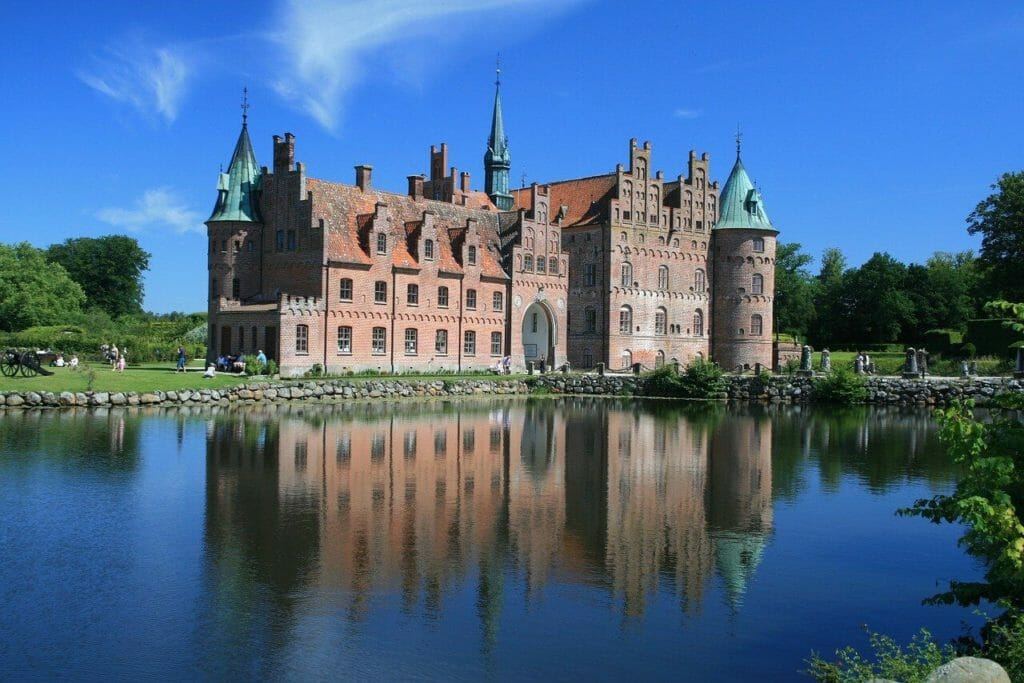 Egeskov Castle in Denmark
