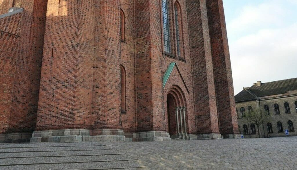 Roskilde cathedral in Demark