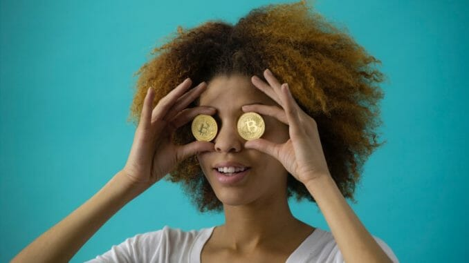 bitcoin crypto girl
